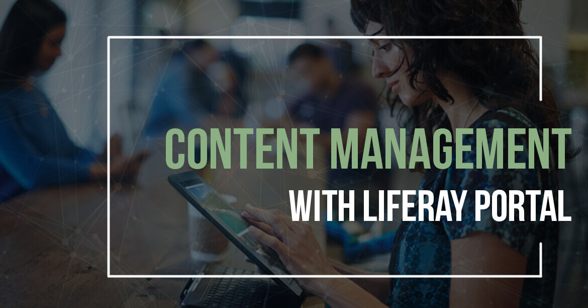 Content Management Side of Liferay Portal