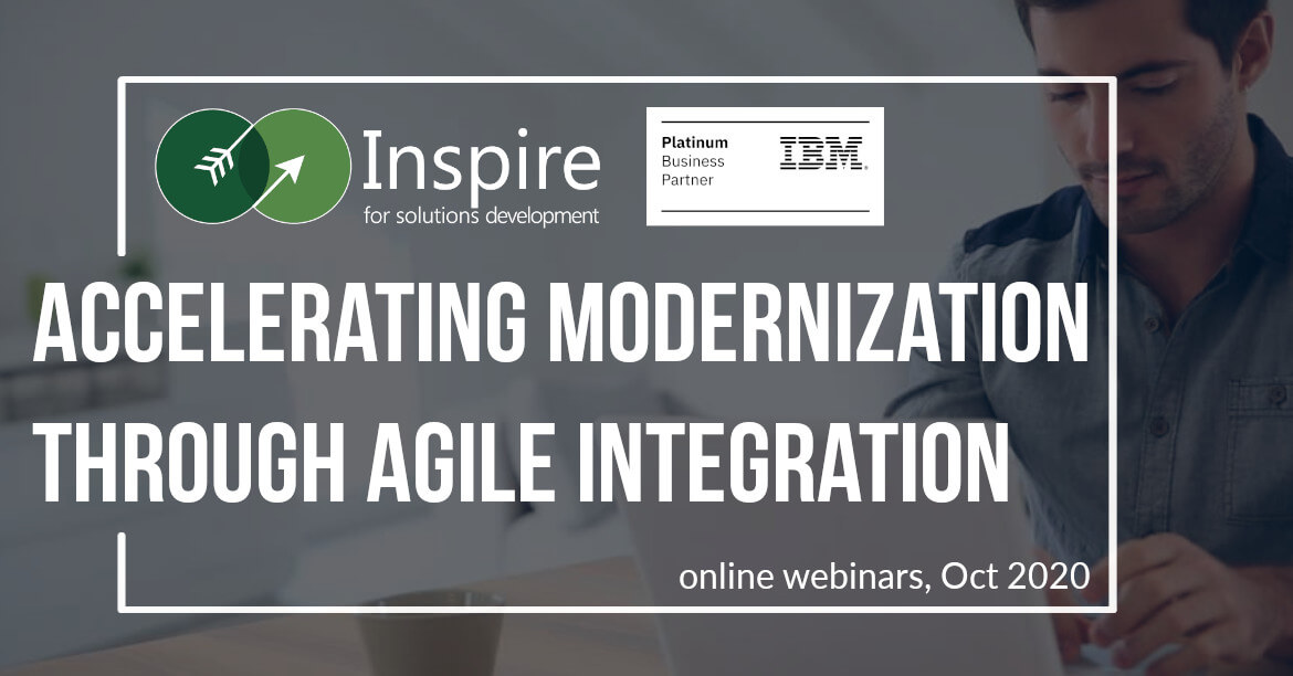 Accelerating Modernization with Agile Integration webinars